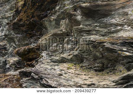 Mountain Rocks Closeup Texture