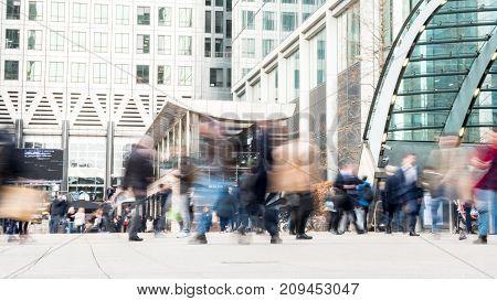 London Docklands Commuters