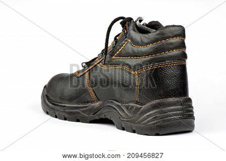 Shoes for work, boots with protection, men's shoes