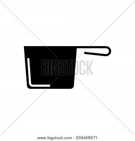 ladle icon, illustration, vector sign on isolated background