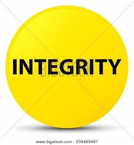 Integrity Yellow Round Button