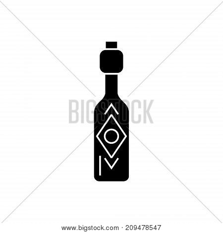 olive oil - vinegar icon, illustration, vector sign on isolated background