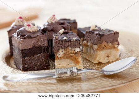 Different Raw Vegan Cakes