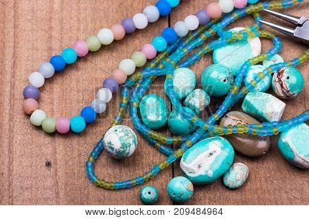 Turquoise Gemstones Set