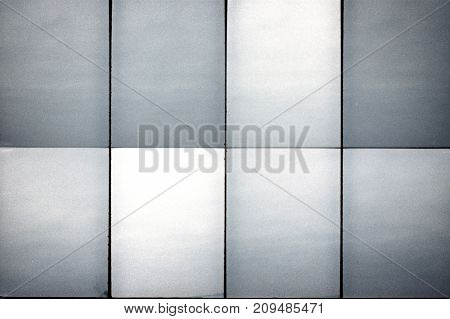 Blank grained film strip texture background with heavy grain dust and lines