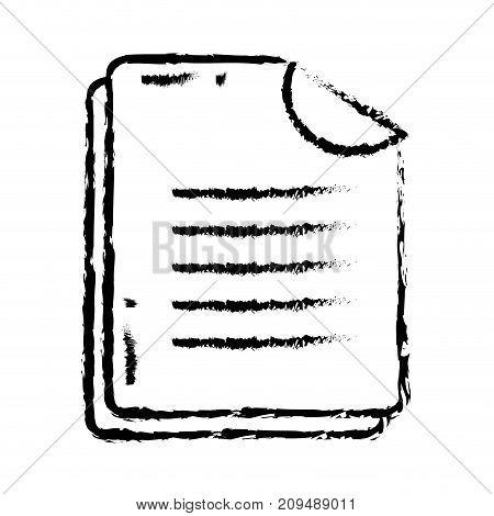 figure business document business data archive vector illustration