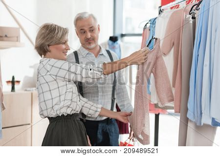 Mature Couple On Shopping