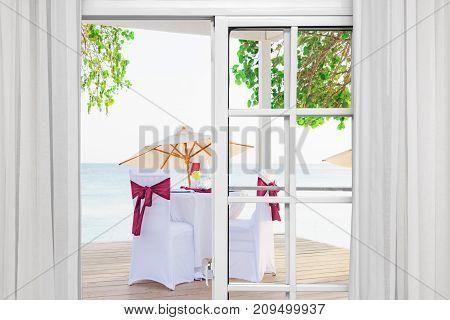 Festive Romantic Dinner Table