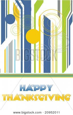 vector illustration of happy thankgiving day background