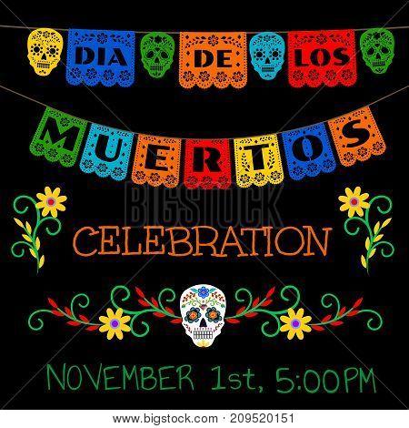 Mexican Day of the Dead, Dia de los Muertos