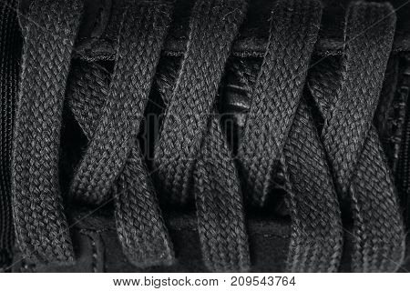 Closeup lacing background  for texture and design