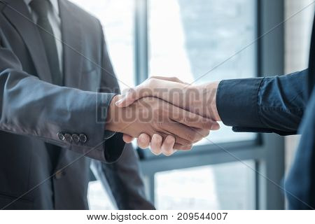 Businessmans Handshake.