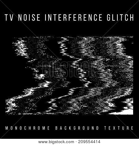 Vector Television Interference Glitch.