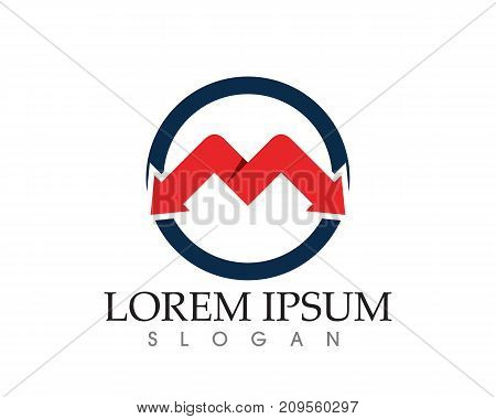 Letter Business  M Vector Icons Such Logos