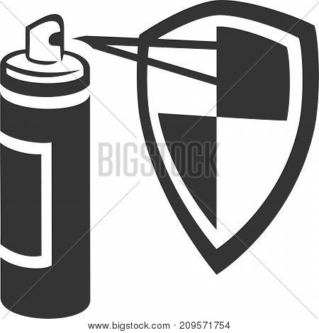 Spray Can Spraying Guard Shield - Stain, Carpet, Fabric Protect, Aerosol Spray Paint Enamel, Bug or Mosquito Defense, Bear Repellent, Deodorant, Hairspray Conditioner, Sunblock, Cleaner. Label and Armor.. Armor. Professional Home Maintenance Supplies