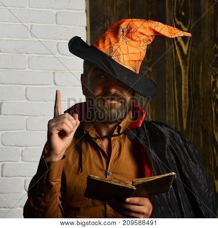 Halloween Mystic Story, Manuscript, Fairytale