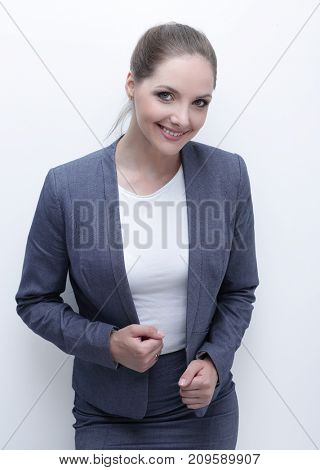 closeup face of a successful woman Manager