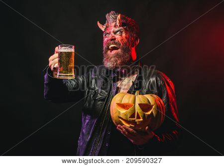 Halloween Holiday Celebration And Party