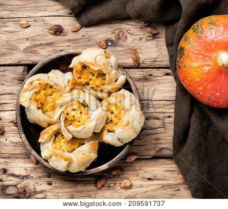 Garlic Biscuits With Pumpkin