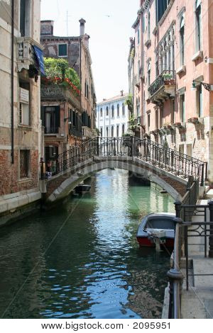 A Beautiful Canal Of Venice