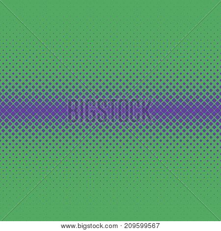 Geometric halftone rounded square pattern background - vector graphic design from diagonal squares in varying sizes