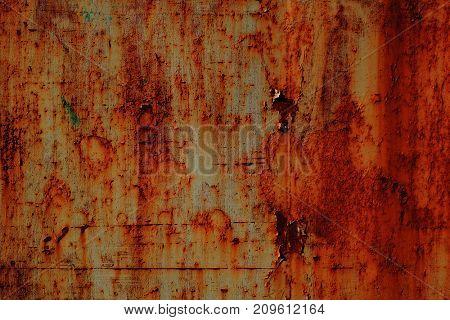 Rusty steel textured background.