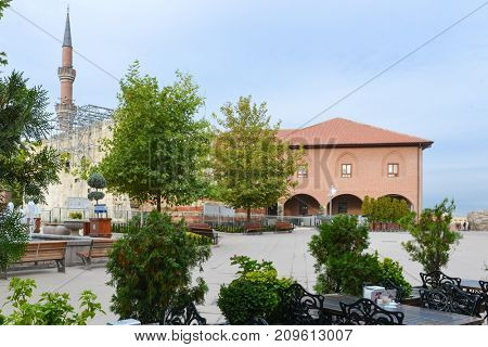 Historical Haci Bayram Mosque is one of the best known mosques in Ankara. It was built during the Ottoman Empire period and a tourist magnet in modern times.