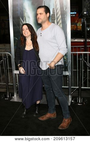 LOS ANGELES - OCT 16:  Holly Marie Combs, fiance Mark at the Geostorm Premiere at the TCL Chinese Theater IMAX on October 16, 2017 in Los Angeles, CA