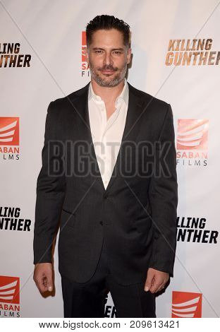 LOS ANGELES - OCT 14:  Joe Manganiello at the