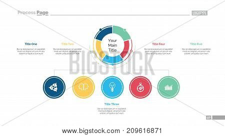 Business structure slide template. Business data. Graph, diagram, design. Creative concept for infographic, report. Can be used for topics like achievement, hierarchy, business fields