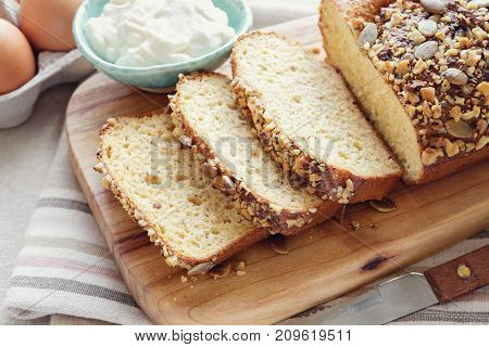 healthy almond bread Keto ketogenic diet paleo low carb fat