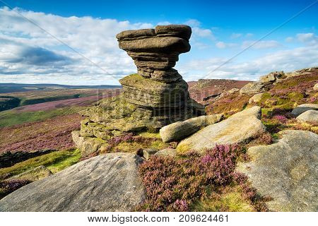 Derwent Edge In Derbyshire