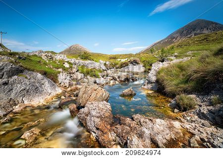Mountain Stream On The Isle Of Skye
