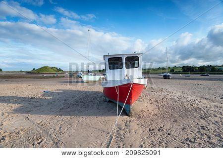 Boats At Alnmouth