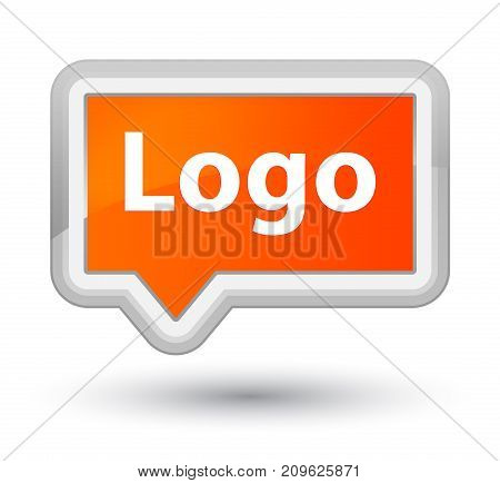 Logo Prime Orange Banner Button