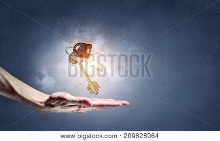 Keys of apartment