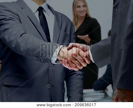 concept of reliability  partnership and cooperation. business