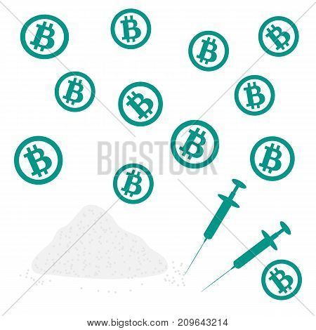 Picture About Transactions In Bitcoin: Bitcoins And Drugs
