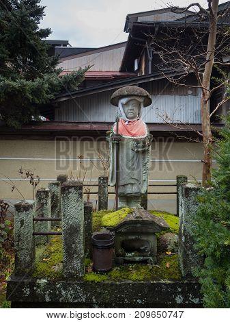 Kyoto Japan - December 20 2016: Tourists Wander A Famous Street Sannen-zaka In Kyoto On December 20