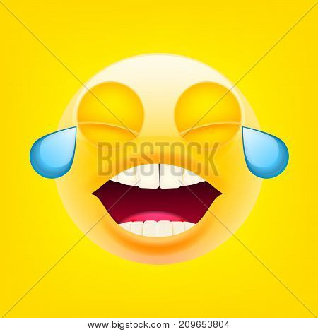 Face With Tears Of Joy