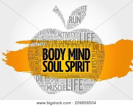 Body Mind Soul Spirit Apple