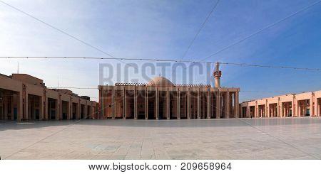 Exterior view to Kuwait Grand Mosque in Kuwait-city, Kuwait