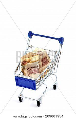 Shopping Cart Isolated On White Background