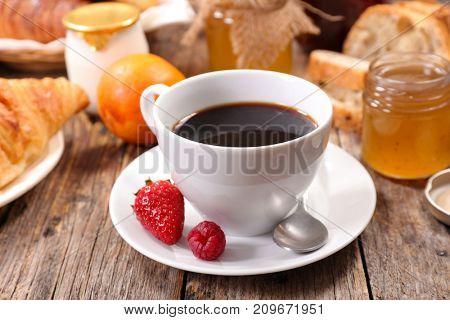 coffee cup breakfast