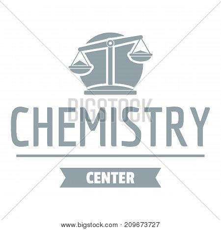 Research lab logo. Simple illustration of research lab vector logo for web
