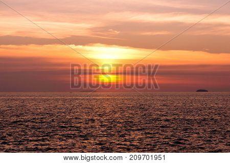 Idyllic View Over Water