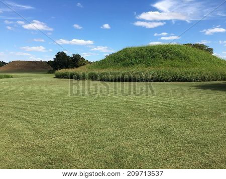 Winterville Mounds State historic site