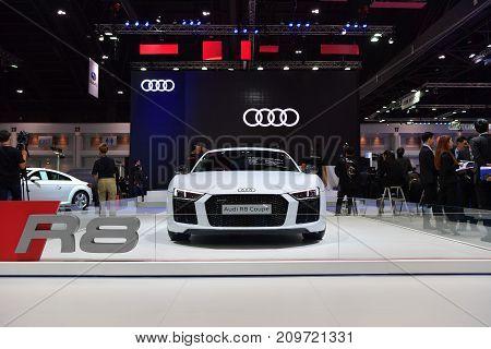 Audi R8 Coupe In Bangkok International Thailand Motor Show 2017