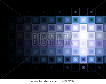 Blue And Purple Tile Background With Light Effect