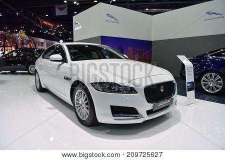 Jaguar Xf In Bangkok International Thailand Motor Show 2017